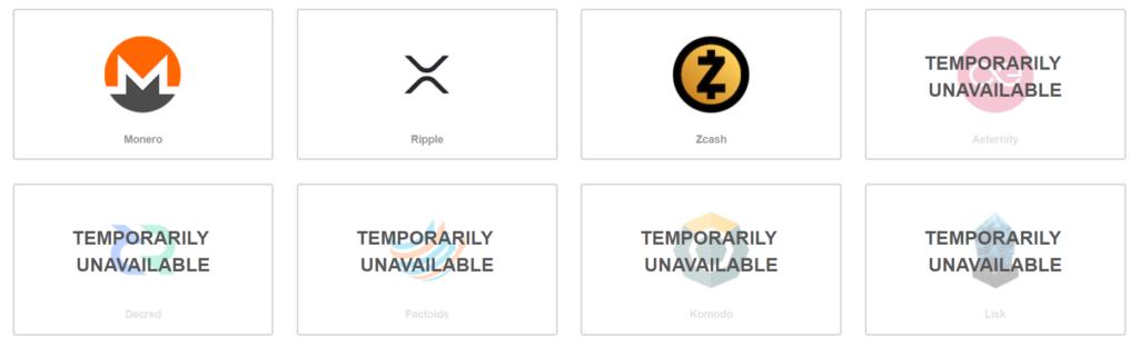 Скрин с официального сайта ShapeShift