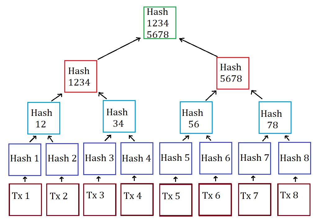 Схема дерева Меркла