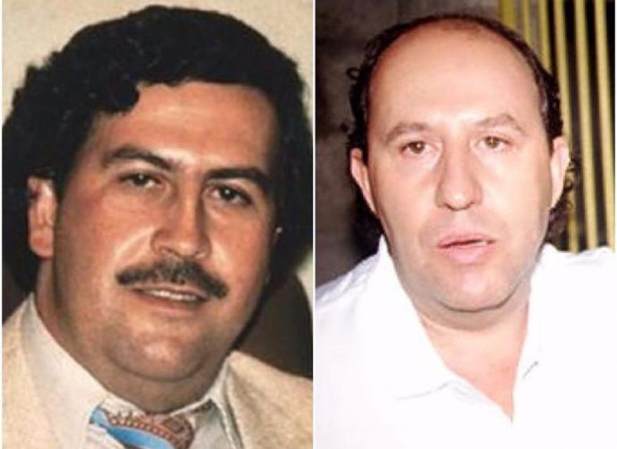 Пабло Эскобар со своим братом - Роберто Эскобаром
