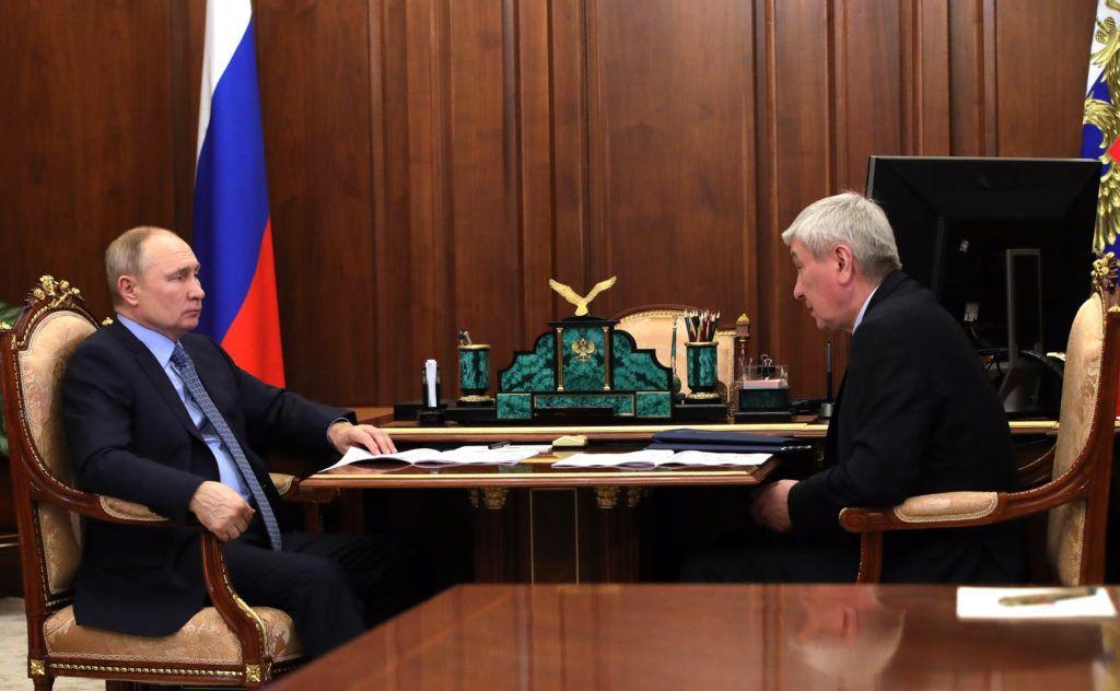 Блокчейн Путин