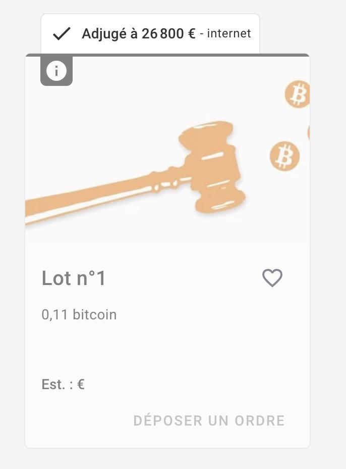 Биткоин аукцион