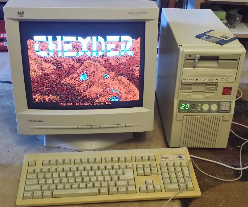 Винтажный компьютер 286