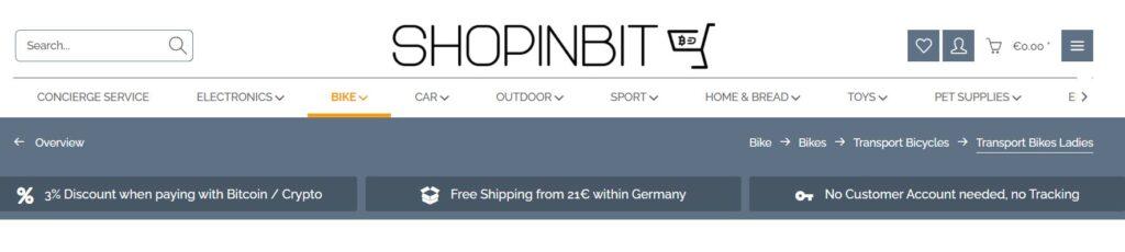 Скрин ShopinBit