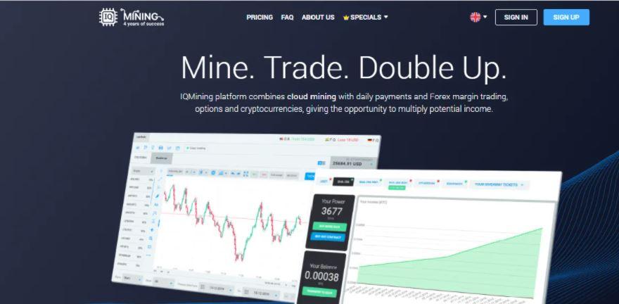 Скрин платформы IQ Mining