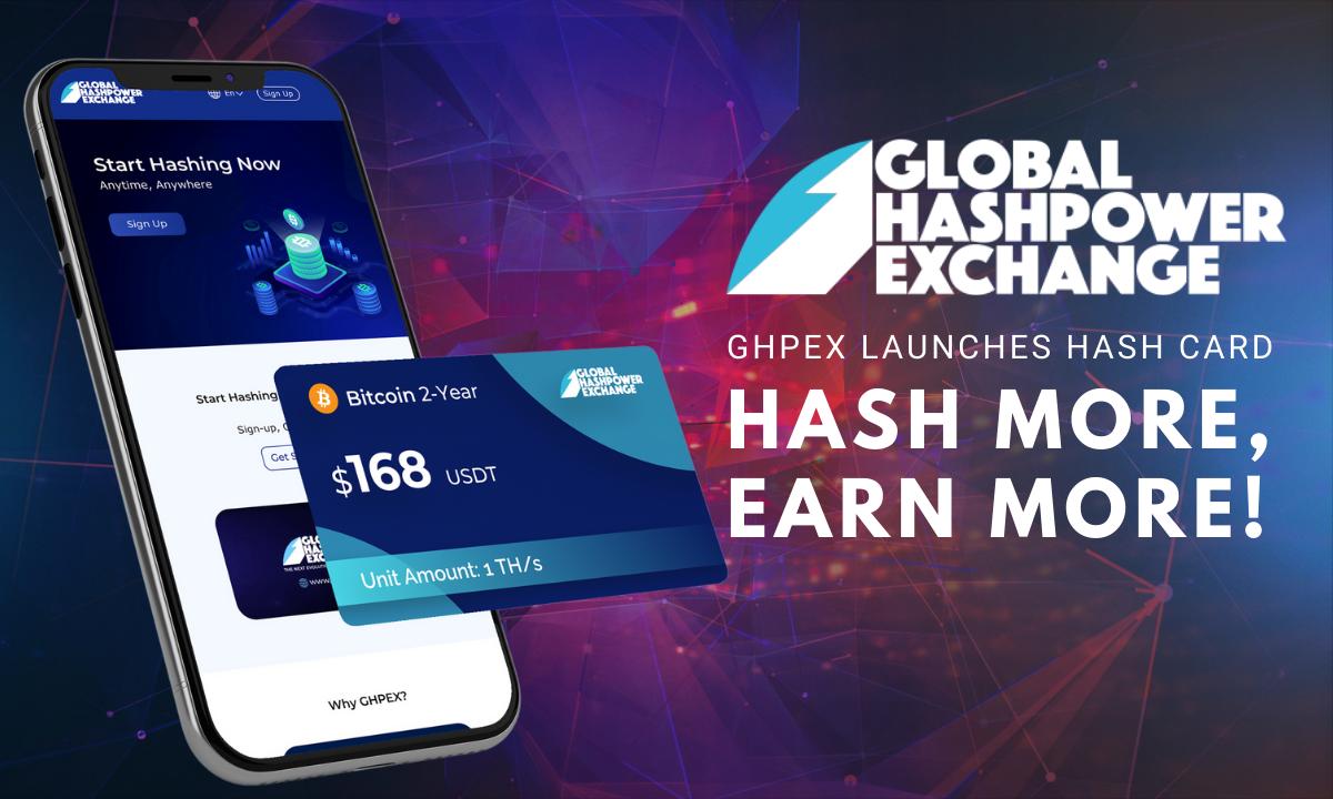 Хэш-карта GHPEX: больше хэша, выше доход!