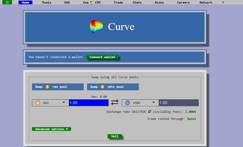 Скрин Curve