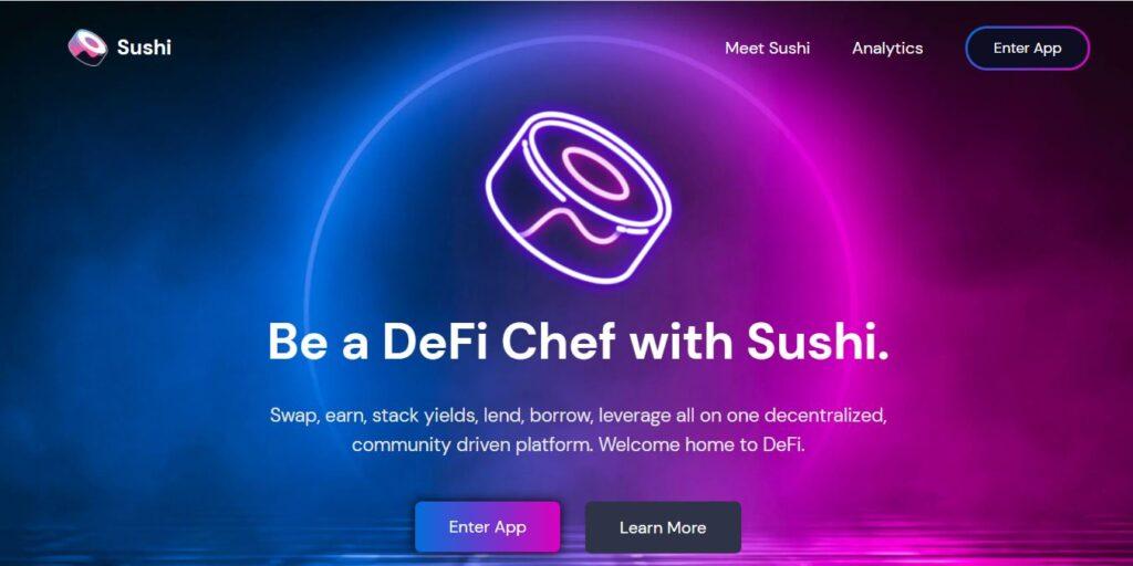 Скрин SushiSwap