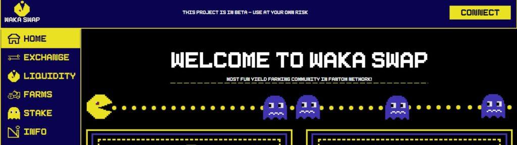 Скрин платформы Waka Finance