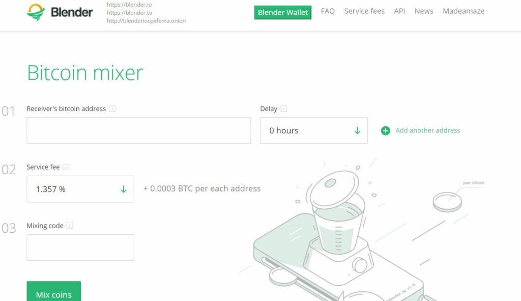 Интерфейс платформы Blender.io