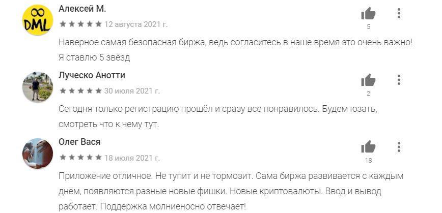 Отзывы о криптобирже ByBit